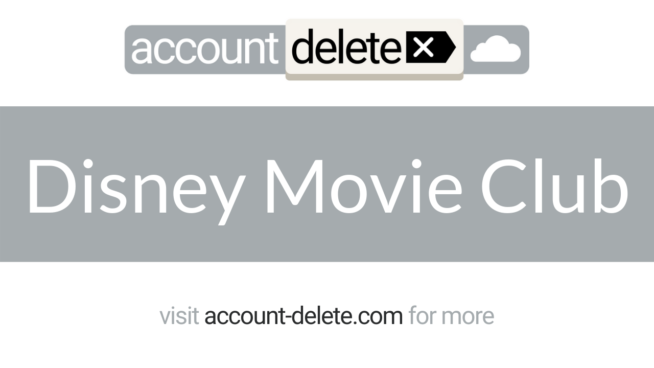 How to Cancel Disney Movie Club